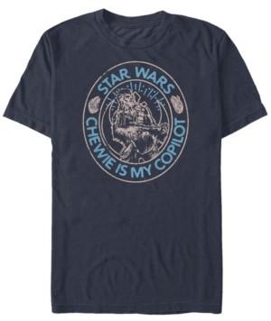 Star Wars Men's Episode Ix Chewie Is My Copilot T-shirt