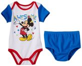 Disney Disney's Mickey Mouse Baby Boy 2-pk. Bodysuits