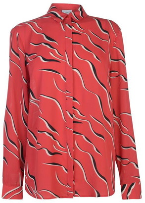 Linea Wave print woven top