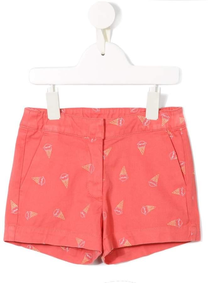 Stella McCartney ice cream print shorts