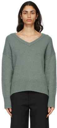 Arch4 Green Cashmere Battersea Sweater