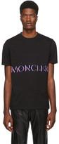 Moncler Genius 2 1952 Black Logo Maglia T-Shirt