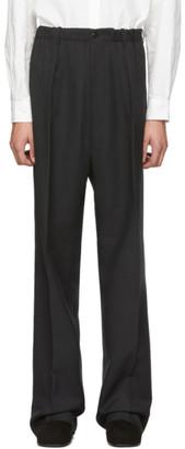 Random Identities Black Elasticized Waist Trousers