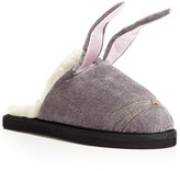 Kate Spade Bonnie Faux Fur Bunny Slippers