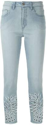 M·A·C Mara Mac cut out pattern skinny jeans