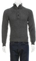 Dolce & Gabbana Wool & Cashmere-Blend Sweater