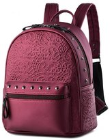 Keshi PU Cute Backpack Bag, Fashion Cute Lightweight Backpacks for Teen Young Girls