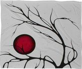 Deny Designs Madart Fleece Throw Blanket, 80-Inch by 60-Inch