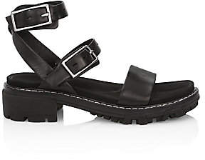Rag & Bone Women's Shiloh Lug-Sole Leather Sandals