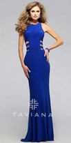 Faviana Racer Back Prom Dress