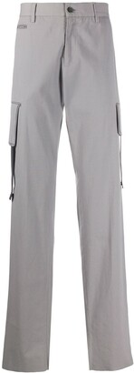 Jil Sander Pre Owned 2000s Utility Pocket Straight-Leg Trousers