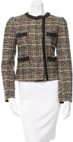 Dolce & Gabbana Bouclé Fitted Jacket