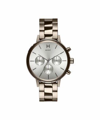 MVMT Women's Analogue Quartz Watch with Gold Tone Stainless Steel Strap 28000069-D