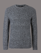 Autograph Textured Crew Neck Jumper