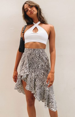 Bb Exclusive Only Love Skirt Zebra