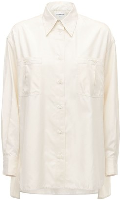 Victoria Beckham Silk Poplin Shirt