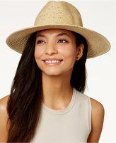 Calvin Klein Sequin Straw Panama Hat