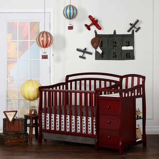 Dream On Me Casco 4-in-1 Convertible Mini Crib Set