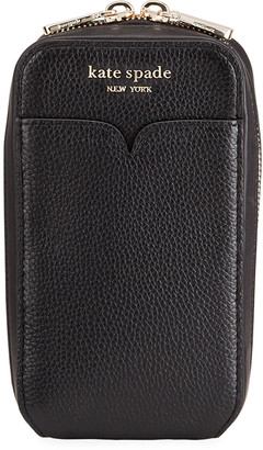 Kate Spade Leather Zip Phone Pouch Bag