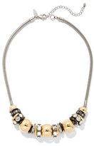 New York & Co. Beaded Goldtone Necklace