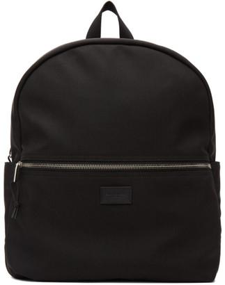 Saint Laurent Black Canvas Nuxx Backpack