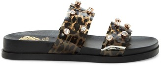 Vince Camuto Partha Jeweled Flatform Slide