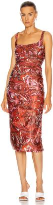 MAISIE WILEN Lady Miss Dress in Mind Melt Red   FWRD