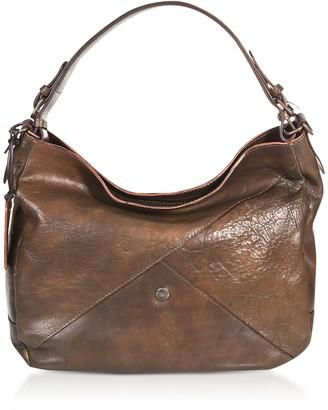 Chiarugi Genuine Leather Hobo Bag