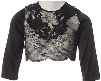 Uniform Union By Loyandford Black Lace Tops