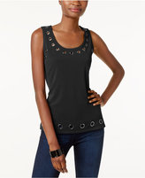 INC International Concepts Embellished Tank Top, Only at Macy's