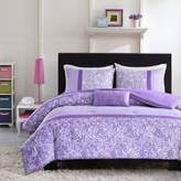 Bed Bath & Beyond Mizone Riley Reversible Twin/Twin XL Comforter Set in Purple