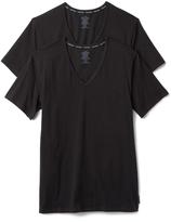 Calvin Klein Underwear CK 2 Pack Modern Cotton Stretch V Neck Tee