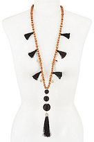 Anna & Ava Earl Boho Long Tassel Necklace