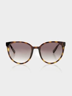 Le Specs Womens Armada Sunglasses in Tortoiseshell