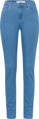 Brax Women's Style Shakira Minimal Jacquard Jeans