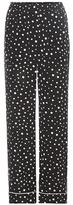 Dolce & Gabbana Polka-dot Silk Trousers