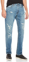 Levi's 514 Distressed Straight Jeans
