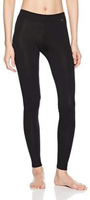 Skiny Women's Sleep & Dream Leggings Lang Pyjama Bottoms, Black 7665, (Size: 42)