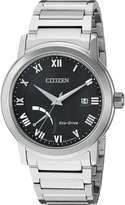 Citizen Men's 'Eco-Drive Dress' Quartz Stainless Steel Casual Watch, Color: -Toned (Model: AW7020-51E)