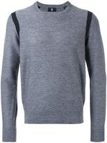 Kent & Curwen contrast trim jumper - men - Merino - M