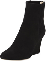 Jimmy Choo Mayor Suede Wedge Boot