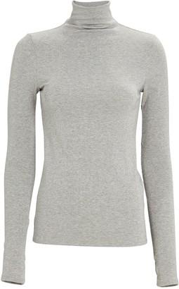 Enza Costa Lurex Turtleneck Sweater