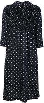Comme des Garcons Ruffle Dot Print Dress
