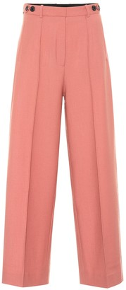 Rokh High-rise wide-leg pants