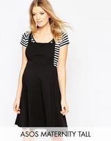 Asos TALL Pinafore Dress