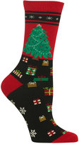 Hot Sox Women's Tree Non-Skid Socks