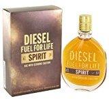 Diesel Diēsel Fŭel Fõr Lifê Spïrit Cõlogne For Men 2.5 oz Eau De Toilette Spray + a FREE Head Over Heels 3.4 oz Shower Gel
