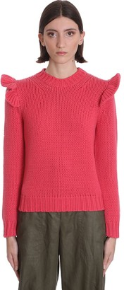 Zimmermann Knitwear In Red Wool