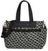 Babymel BabymelTM Cara Diaper Bag in Black/White
