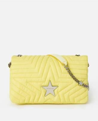 Stella McCartney Econyl Stella Star Flap-Over Shoulder Bag